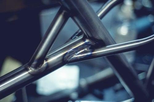 Hand-brazed steel frames